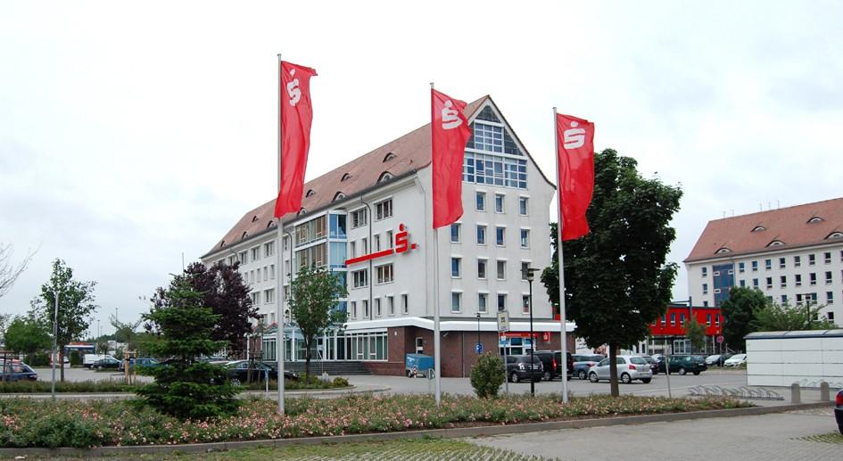 Technikzentrum der Kreissparkasse Stendal in der Arneburger Straße